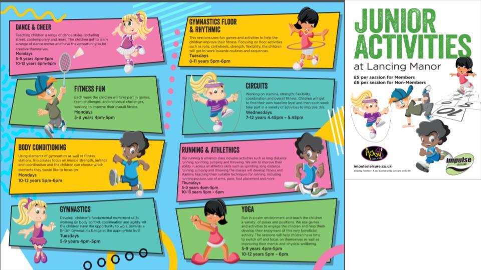 junior programme